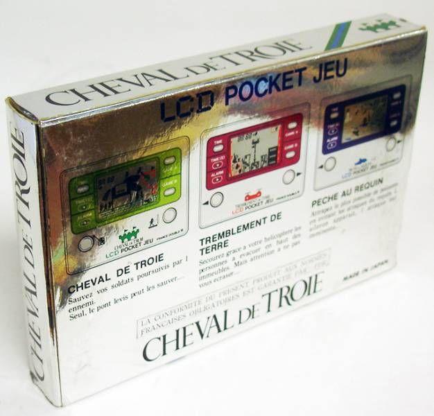 Gakken / France Double R - Handheld Game - Cheval de Troie (en boite)