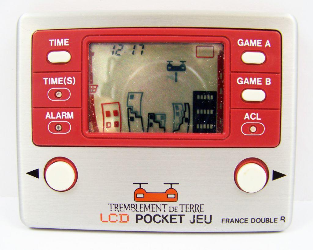 Gakken / France Double R - Handheld Game - Tremblement de Terre (occasion)