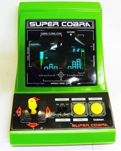 Gakken LSI Game - Table Top - Super Cobra (Loose)