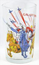 Galaxy Rangers - Amora Mustard glass - Rangers on horseback