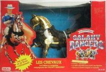 Galaxy Rangers - Gold Robot Horse