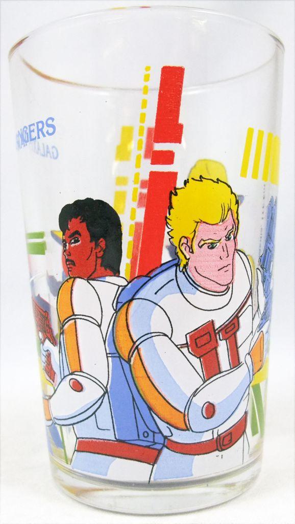 Galaxy Rangers - Verre à moutarde Amora - Foxx, Niko, Doc, Goose