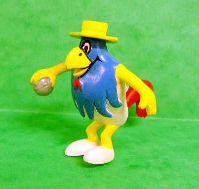 Galli (the sports cock) - Schleich - Petanque player Galli
