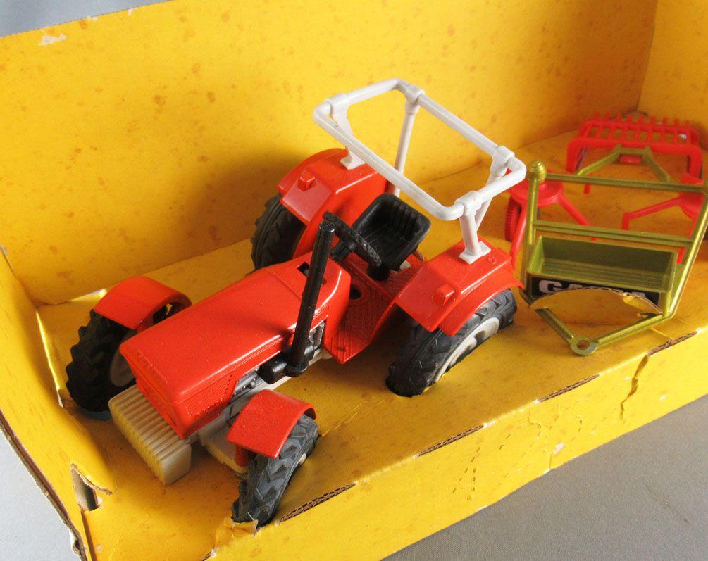 Gama 4262 Tracteur Deutz & Epandeur Neuf Boite 1/16