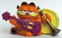 Garfield - Bully PVC Figure - Garfied musician