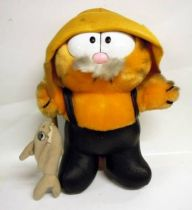 Garfield - Dakin & Co. Plush - Garfield fisherman