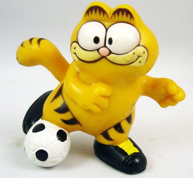 Garfield - Figurine PVC - Garfield footballeur