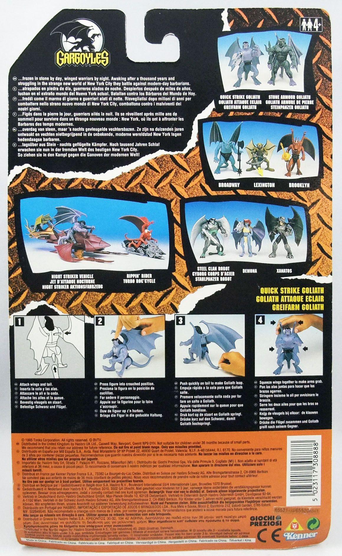 Gargoyles - Kenner - Quick Strike Goliath