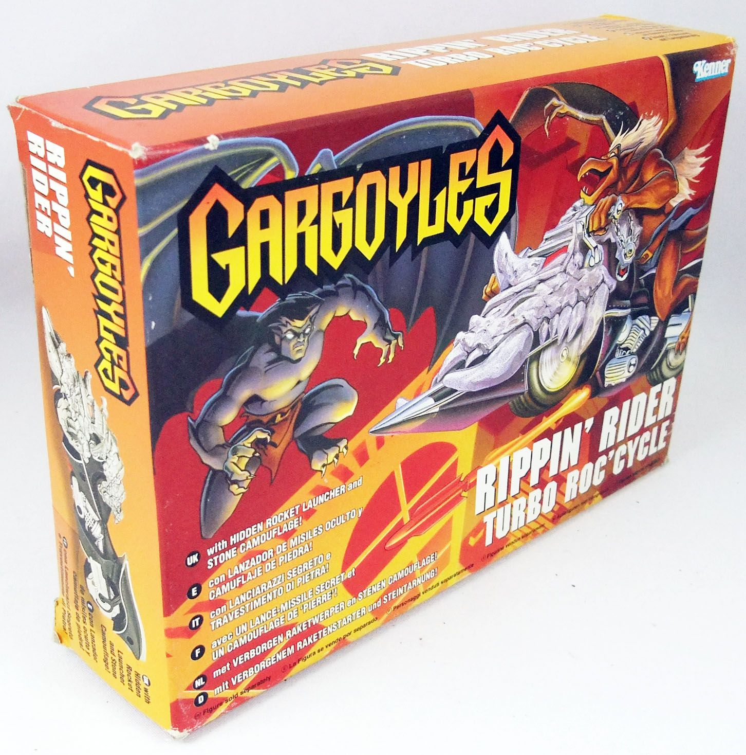 Gargoyles - Kenner - Rippin\' Rider Turbo Roc\'Cycle