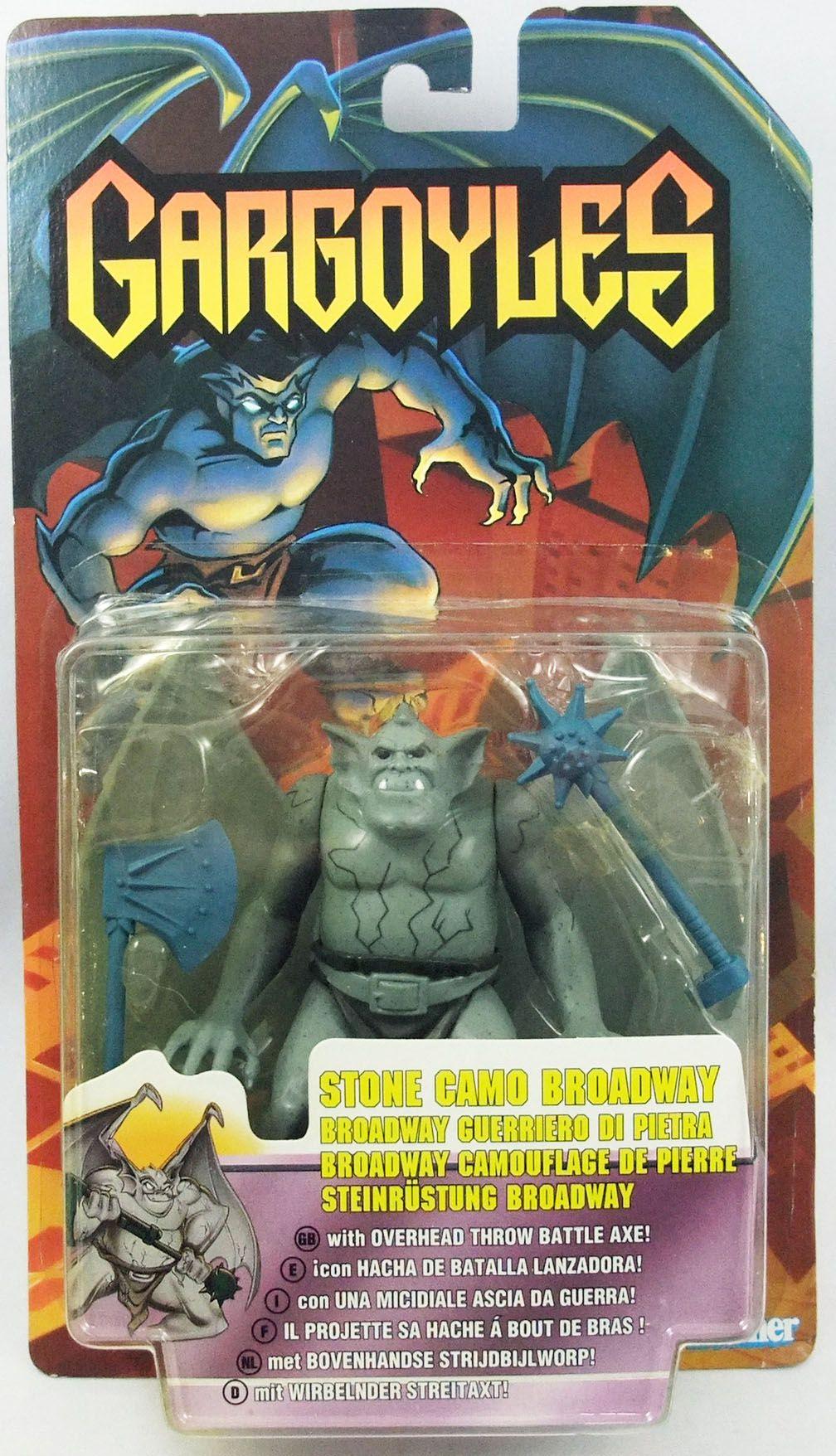 Gargoyles - Kenner - Stone Camo Broadway