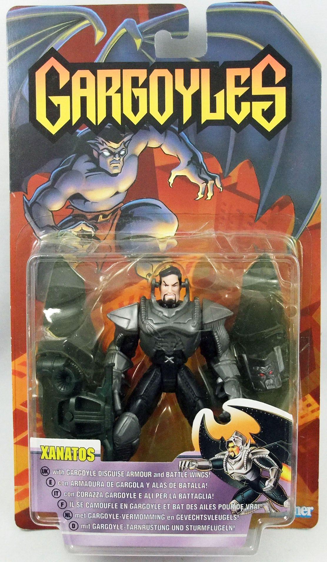 "Gargoyles - Kenner - Xanatos \""Black Armor\"""