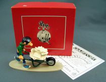 Gaston - Pixi Collector Figure - Gaston and his wheelbarrow (Ref.4744)