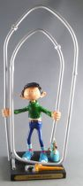Gaston - Plastoy Resin Figure - Giant Paper-clip