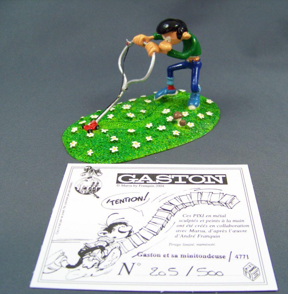 Gaston Lagaffe - Figurine de Pixi - Gaston et sa mini-tondeuse (Ref.4771)