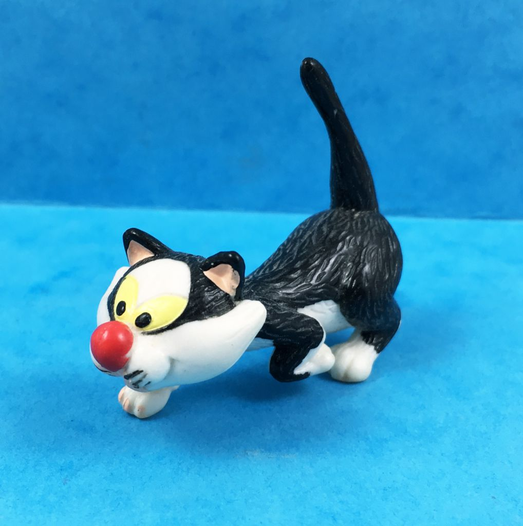 Gaston Lagaffe - Figurine Flexible Quick - Gaston 12cm & son Chat