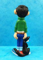 Gaston Lagaffe - Figurine PVC Plastoy - Gaston et son chat