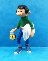 Gaston Lagaffe - Figurine PVC Plastoy - Gaston part faire une sieste