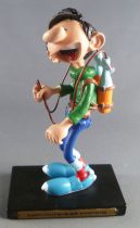 Gaston Lagaffe - Figurine Résine Plastoy - Distributeur de Boissons