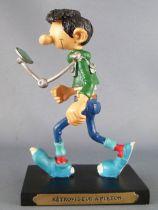 Gaston Lagaffe - Figurine Résine Plastoy - Rétroviseur à piéton