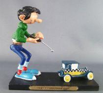 Gaston Lagaffe - Figurine Résine Plastoy - Taxi Radiocommandé