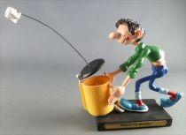 Gaston Lagaffe - Figurine Résine Plastoy - Tennis de Bureau