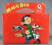 Gaston Lagaffe - Premium Quick - Magic Box (Figurine Flexible et Voiture de Gaston incluses)