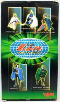 Gatchaman Battle of the Planets - Yujin - Set of 5 pvc G Force figures