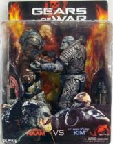 Gears of War - General Raam vs. Lt. Minh Young Kim - NECA Player Select figures