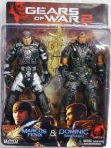 Gears of War 2 - Marcus Fenix & Dominic Santiago - NECA Player Select figures