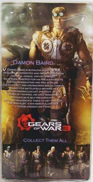 Gears of War 3 Série 2 - Damon Baird - Figurine Player Select NECA