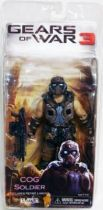 Gears of War 3 Série 3 - COG Soldier - Figurine Player Select NECA