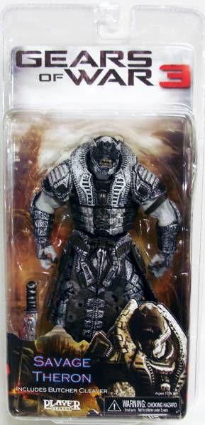 Gears of War 3 Série 3 - Savage Theron (version 1) - Figurine Player Select NECA