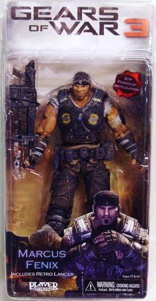 Gears Of War 3 Series 1 Marcus Fenix Neca Player Select