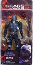 Gears of War Series 5 - COG Soldier - NECA Player Select figure