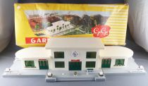 Gégé Ho Sncf Grande Gare 3 Batiments avec Eclairage en Boite