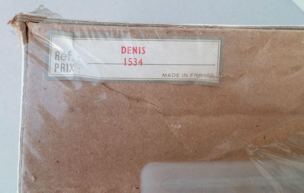 Gégé Réf 1534 - Poupée 50 cm -  Denis Blond Bouclé 1974 Neuve en Boite