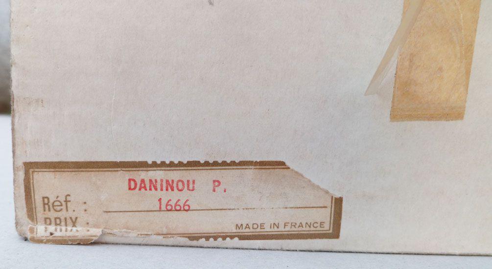 Gégé Réf 1666 - Poupée 55 cm -  Daninou Parlant 1972 Neuve en Boite