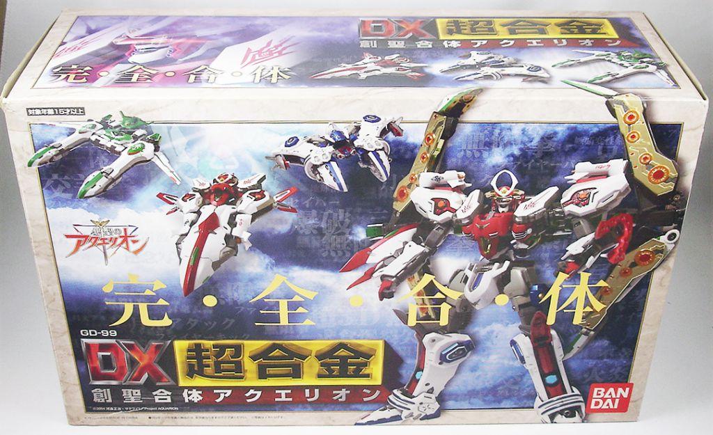 Genesis of Aquarion - Vector Machine set DX Chogokin - Bandai GD-99