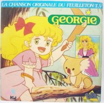 Georgie - Disque 45Tours - Bande Originale du feuilleton Tv - AB Kids 1988