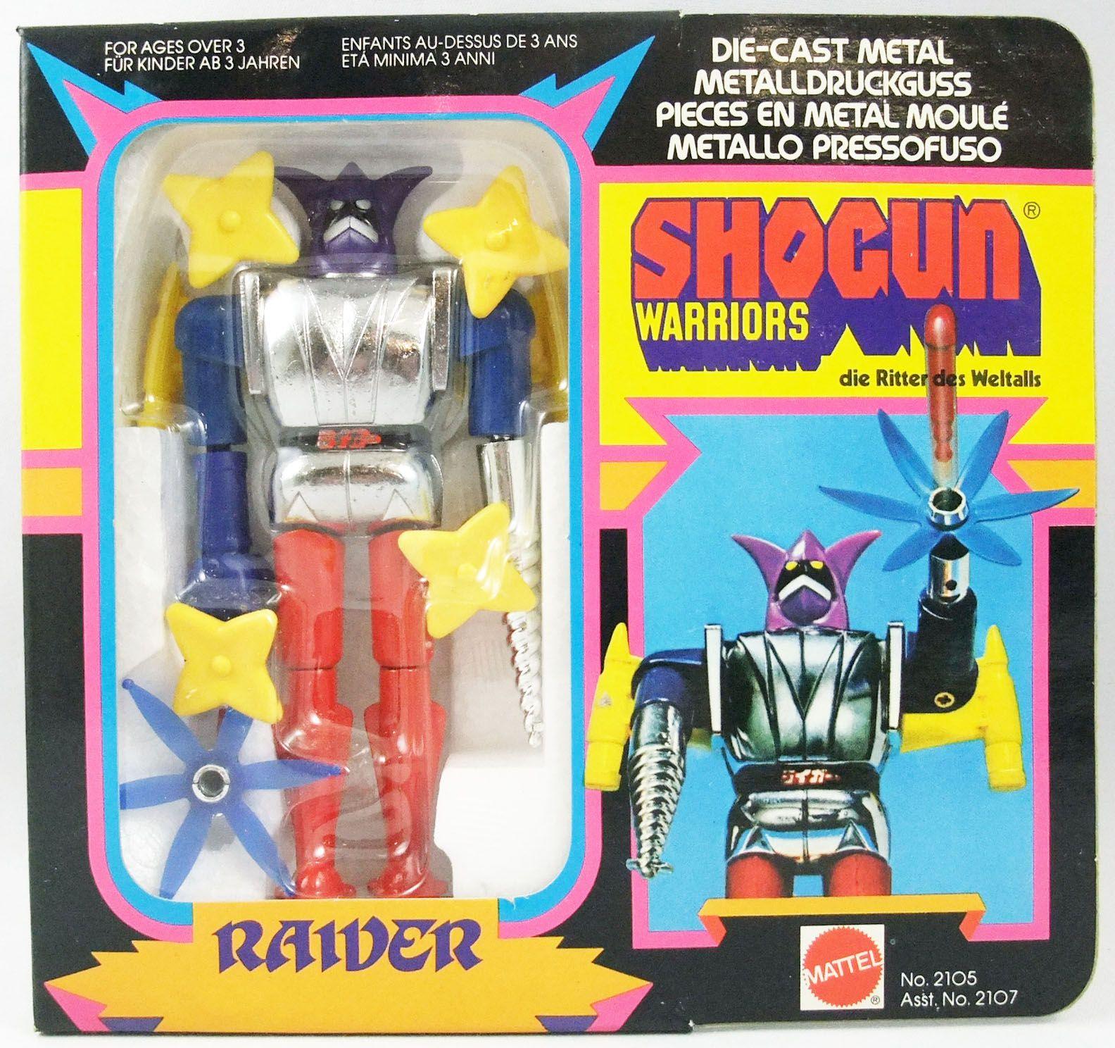 Getter Robo - Mattel Shogun Warriors - Raider 2éme édition (Neuf en boite Europe)