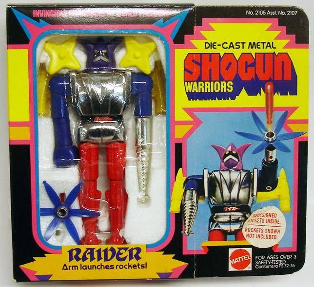 Getter Robo - Mattel Shogun Warriors - Raider 2éme édition (Neuf en boite USA)