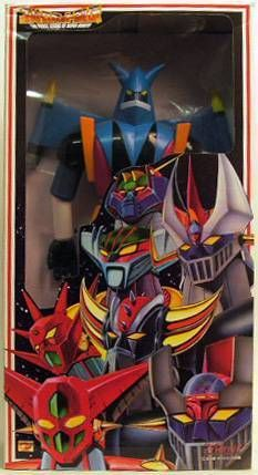 GGetter Robo G - Marmit - Getter Liger Fierce Legend