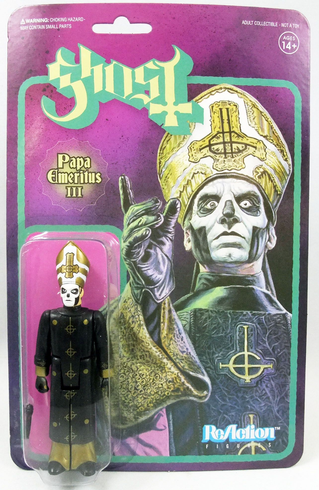 Ghost - Super7 ReAction Figure - Papa Emeritus III