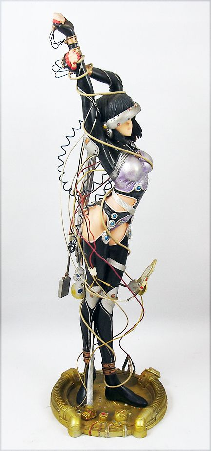 "Ghost in the Shell : Sea of Wires - Statue résine ""Hard Disc Motoko Kusanagi\"""