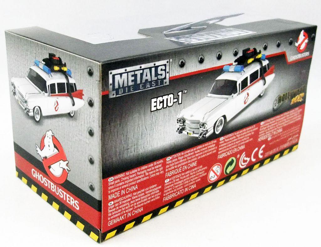 Ghostbusters - Ecto-1 - die-cast metal 1:32 scale car - Jada Toys