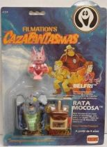 Ghostbusters Filmation - Action Figure - Belfry & Brat-a-Rat (Comansi card)