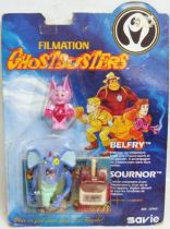 Ghostbusters Filmation - Figurine articulée - Belfry & Brat-a-Rat / Belfry & Sournor (neuf sous blister Savie)