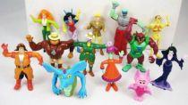 Ghostbusters Filmation - Yolanda pvc figures complete set