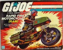 G.I.JOE - 1982 - Rapid Fire Motorcycle R.A.M.