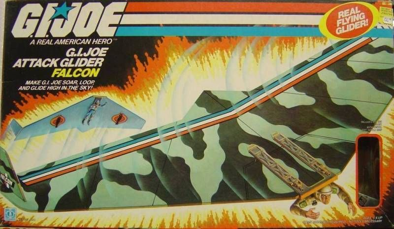 G.I.JOE - 1983 - G.I.Joe Attack Glider Falcon